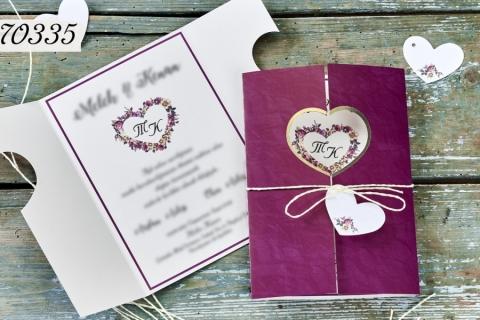 Сватбени покани 70335